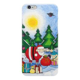 "Чехол для iPhone 6 ""Lollypups #12 (Christmas) "" - арт, подарок, рождество, овца"