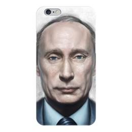 """Чехол для iPhone 6 """"Путин"""" - любовь, россия, путин, президент, ввп"""