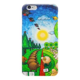 """Чехол для iPhone 6 """"Lollypups #13 (Manifest) """" - арт, россия, баран, овца"""