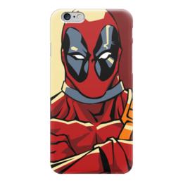 "Чехол для iPhone 6 ""Дэдпул (Deadpool)"" - комиксы, марвел, дэдпул, deadpoo"