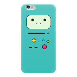 "Чехол для iPhone 6 ""BMO  Adventure Time"" - adventure time, время приключений, bmo, бимо"