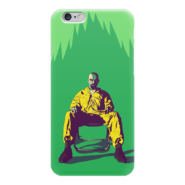 """Чехол для iPhone 6 глянцевый """"Хайзенберг"""" - сериалы, во все тяжкие, хайзенберг, heisenberg, breaking bad"""