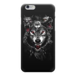 """Чехол для iPhone 6 """"Animal Art"""" - ужасы, волк, оборотень, волки, volf"""