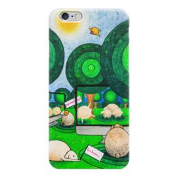 "Чехол для iPhone 6 ""Lollypups #15 (two lives) "" - арт, apple, баран, овечка, реальность"
