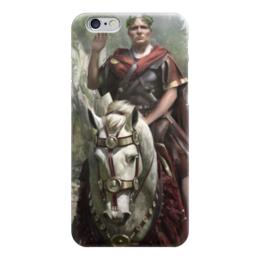 """Чехол для iPhone 6 """"SPQR: Сенат и граждане Рима"""" - история, рим, цезарь, путь воина, гесс"""