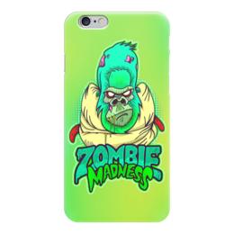 "Чехол для iPhone 6 ""Zombie Madness"" - арт, zombie, зомби, обезьяна, горилла"
