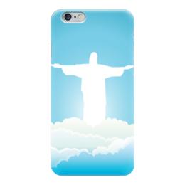 """Чехол для iPhone 6 """"Иисус Христос"""" - арт, вера, религия, иисус, бог"""