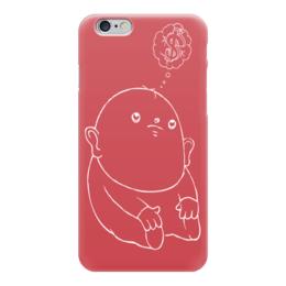 """Чехол для iPhone 6 """"Dollar Baby"""" - рисунок, дети, деньги, мульт, доллар"""
