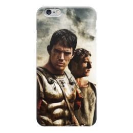 """Чехол для iPhone 6 глянцевый """"Орел IX легоина"""" - история, легион, римляне, путь воина, гесс"""
