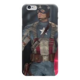 """Чехол для iPhone 6 """"Captain America"""" - игры, комиксы, фильмы, капитан америка, captain america"""