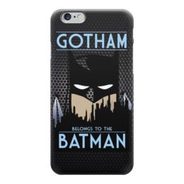 "Чехол для iPhone 6 ""Batman (Бэтмен)"" - batman, бэтмен, gotham"