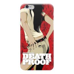 """Чехол для iPhone 6 """"death proof"""" - тарантино, доказательство смерти"""