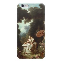 """Чехол для iPhone 6 """"Признание в любви"""" - картина, фрагонар"""