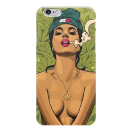 "Чехол для iPhone 6 ""420"" - smoke, cannabis, 420, марихуана, marijuana"
