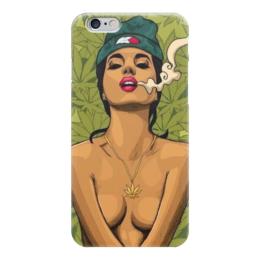 "Чехол для iPhone 6 ""420"" - smoke, cannabis, 420, марихуана, marijuana"