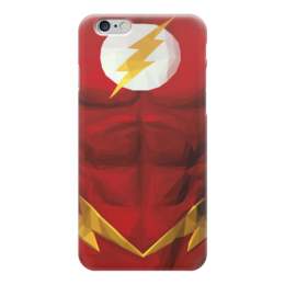"Чехол для iPhone 6 ""Флэш (Flash)"" - flash, комиксы, dc, dc comics, флэш"