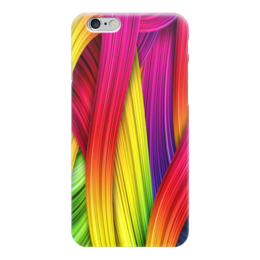 "Чехол для iPhone 6 ""Абстракция"" - цвета, узоры, абстракция, абстракционизм, арт дизайн"
