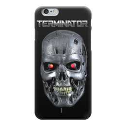 "Чехол для iPhone 6 ""Terminator"" - кино, arnold schwarzenegger, терминатор, terminator, арнольд шварцнегер"