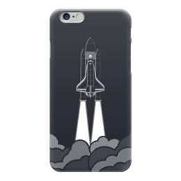 "Чехол для iPhone 6 ""Ракета (Космос)"" - space, космос, ракета, шатл"