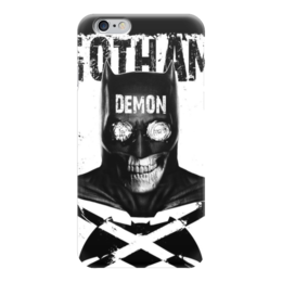 "Чехол для iPhone 6 ""Бэтмен"" - комиксы, batman, бэтмен, dc comics, готэм"