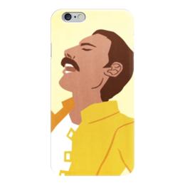 "Чехол для iPhone 6 ""Фредди Меркьюри (Queen)"" - queen, фредди меркьюри, freddie mercury"