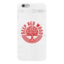 "Чехол для iPhone 6 ""Deep Red Wood"" - iphone, iphone6, deepredwood, legendspro"
