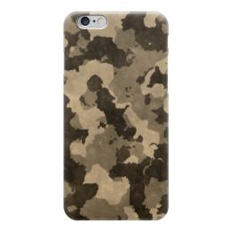"Чехол для iPhone 6 глянцевый ""Камуфляж"" - армия, army, camo, камуфляж"