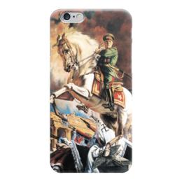 """Чехол для iPhone 6 """"Портрет маршала Георгия Жукова"""" - картина, яковлев"""