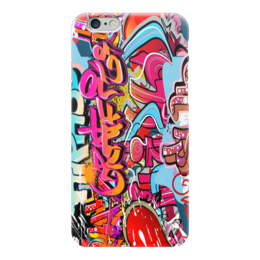 "Чехол для iPhone 6 ""Граффити"" - танцы"
