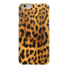"""Чехол для iPhone 6 """"Леопард"""" - пятна, леопард, текстура, leopard"""