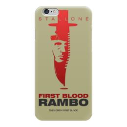 "Чехол для iPhone 6 ""Rambo"" - кино, боевик, сильвестр сталлоне, rambo, sylvester stallone"