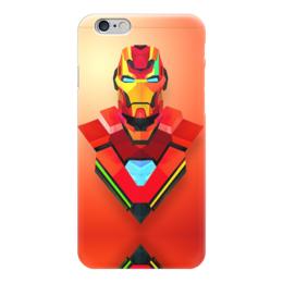 """Чехол для iPhone 6 """"Marvel Iron Man"""" - железный человек, iron man, дауни"""