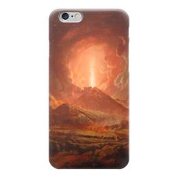 """Чехол для iPhone 6 """"Извержение Везувия (картина Райта)"""" - картина, райт"""