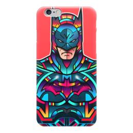 "Чехол для iPhone 6 глянцевый ""Batman"" - batman, бэтмен, dc, арт, комиксы"