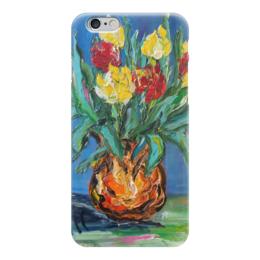 """Чехол для iPhone 6 """"Букет"""" - весна, красивый, тюльпаны, букет"""