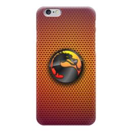 "Чехол для iPhone 6 ""Mortal Kombat (Cмертельная битва)"" - mortal kombat, файтинг, cмертельная битва"