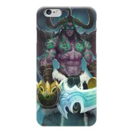 "Чехол для iPhone 6 ""Иллидан"" - wow, blizzard, world of warcraft, варкрафт, illidan stormrage"