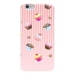 """Чехол для iPhone 6 """"Кексики """" - сладкое, пироженки, вкусное"""
