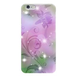 """Чехол для iPhone 6 """"Лилия"""" - цветок, лилия"""