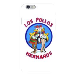 "Чехол для iPhone 6 ""Los Pollos Hermanos (Breaking Bad)"" - во все тяжкие, breaking bad, los pollos hermanos, братья цыплята"