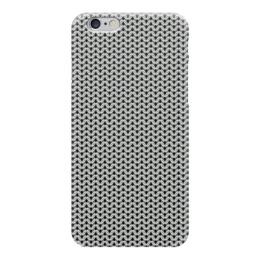 """Чехол для iPhone 6 """"Кольчуга"""" - металл, защита, кольца, кольчуга, бронь"""