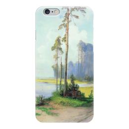 """Чехол для iPhone 6 """"Летний пейзаж. Сосны."""" - картина, саврасов"""