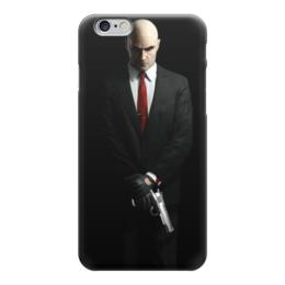 """Чехол для iPhone 6 """"hitman"""" - hitman, хитман, хитмэн, агент 47"""