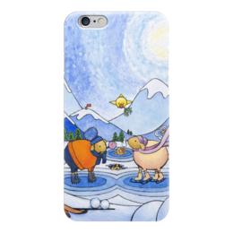 """Чехол для iPhone 6 """"Lollypups #20"""" - арт, зима, овца"""