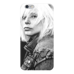 "Чехол для iPhone 6 глянцевый ""Lady Gaga"" - lady gaga, знаменитости, леди гага"