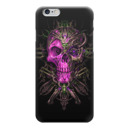 "Чехол для iPhone 6 ""Skull Art"" - skull, череп, artwork, фентази, арт дизайн"