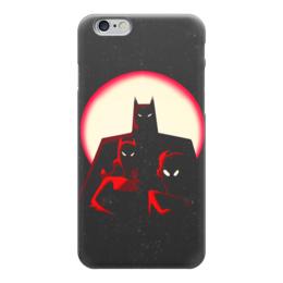 "Чехол для iPhone 6 ""Бэтмен"" - batman, бэтмен, супергерой, летучая мышь, брюс уэйн"