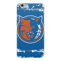 "Чехол для iPhone 6 ""Charlotte Bobcats"" - баскетбол, шарлотт бобкэтс, шарлотт хорнетс, charlotte bobcats"