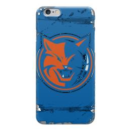 """Чехол для iPhone 6 глянцевый """"Charlotte Bobcats"""" - баскетбол, шарлотт бобкэтс, шарлотт хорнетс, charlotte bobcats"""
