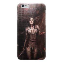 "Чехол для iPhone 6 ""Хоррор"" - арт, девушка, стиль, ужастик, хоррор"